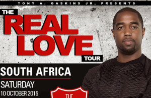 Tony Gaskins coming back to SA in October Real Love Tour
