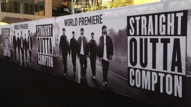 Straight outta compton movie release date in Brisbane