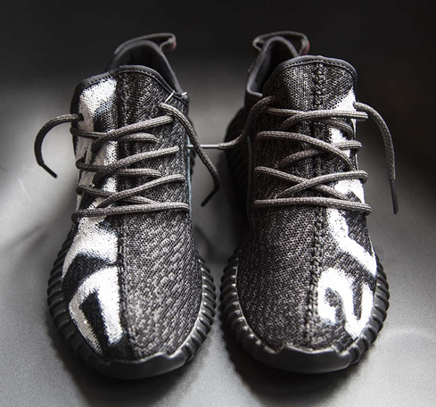 6944a222c189 US designer introduces custom  Kanye 2020  adidas Yeezy 350 Boost ...