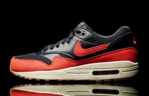 Nike Air Max 1 Essential Black Gym Red sneakerazzi (2)