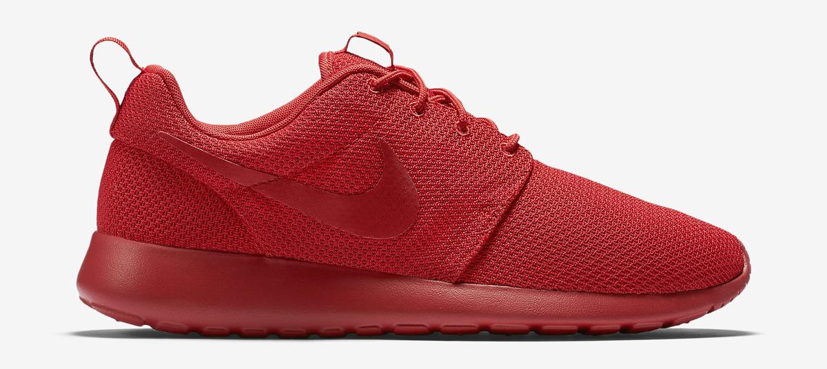 big sale 0d495 b573b nike roshe run all red