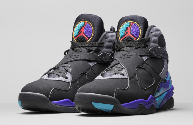 Air Jordan 8 Retro Aqua  yomzansisneakers (1)