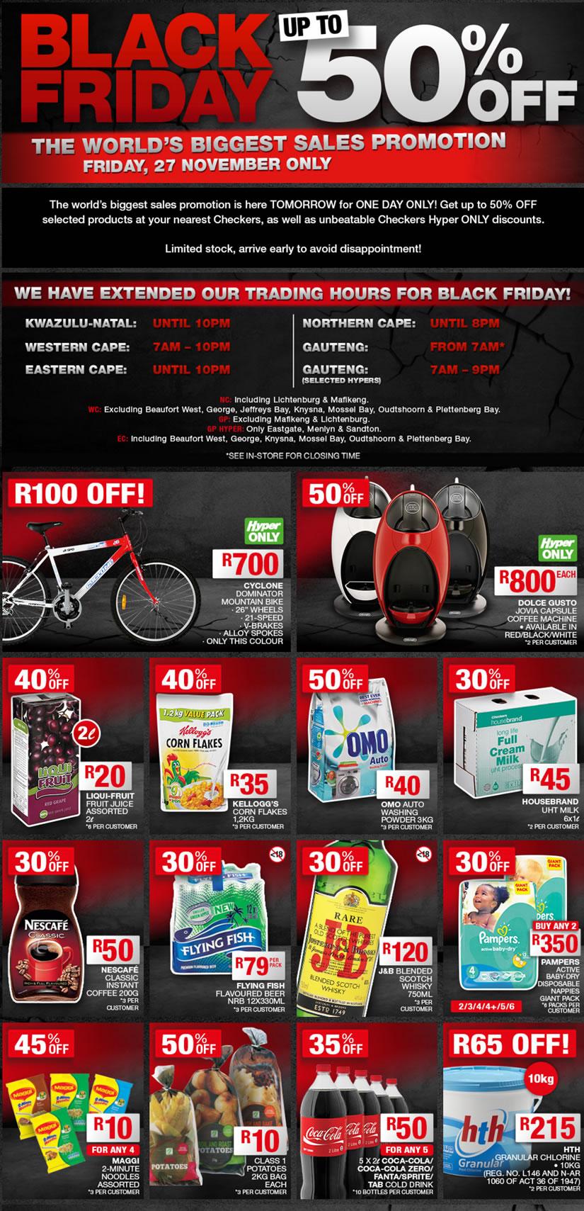 list of black friday 39 hot deals 39 yomzansi. Black Bedroom Furniture Sets. Home Design Ideas