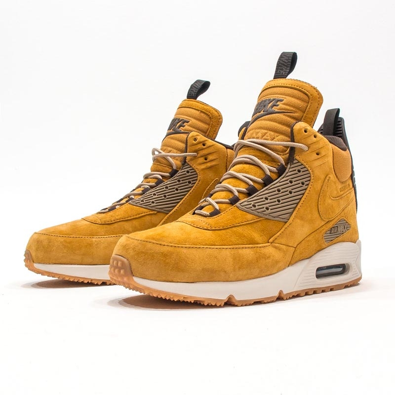 "the best attitude 2b897 73b38 Nike Air Max 90 ""Wheat"" Sneakerboot Now Available"