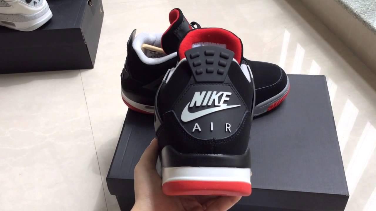 Jordan 4 Bred 2016