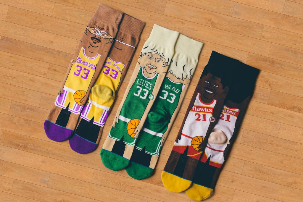 new cool stance �nba cartoon� sock collection � yomzansi