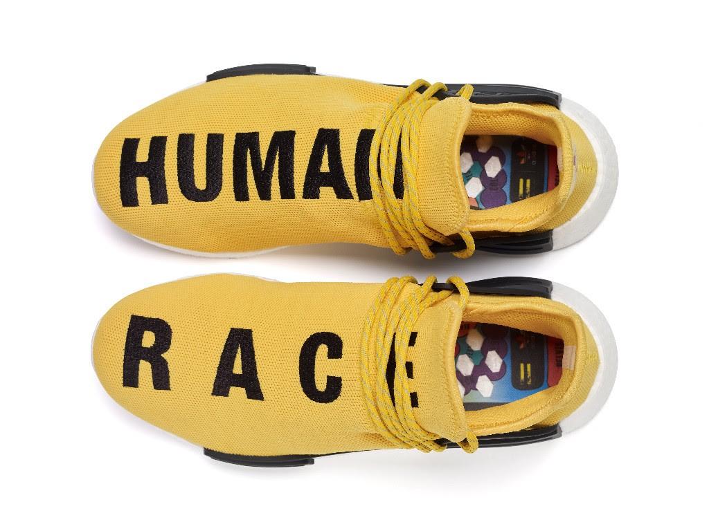 Adidas Pharrell Williams HU Race NMD Shoes Black Size 13 BB3068