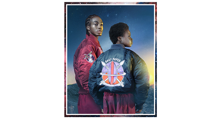 11ae3f91c Daily Paper x Alpha Industries MA-1 Space Bomber Jacket | | YoMZansi
