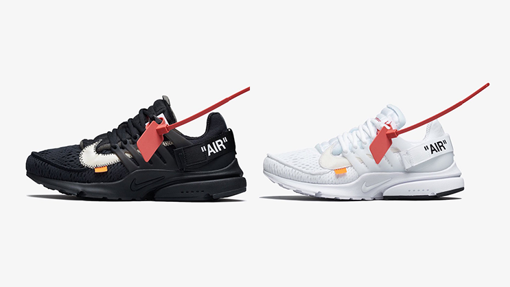 huge selection of 13407 6a9dc The Off-White x Nike Air Presto
